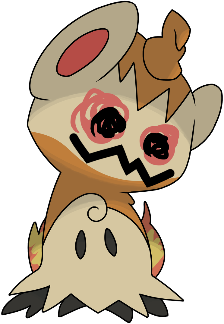 Mimikyu Chimchar By YoungsterJack On DeviantArt