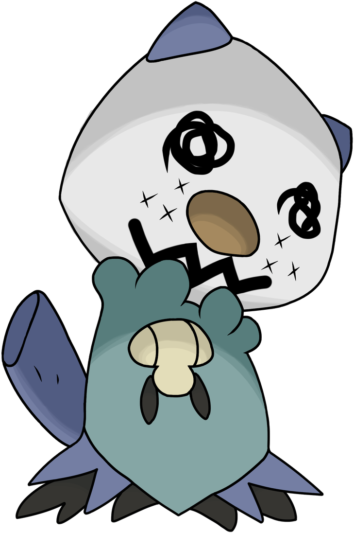Mimikyu Oshawott By Youngsterjack On Deviantart