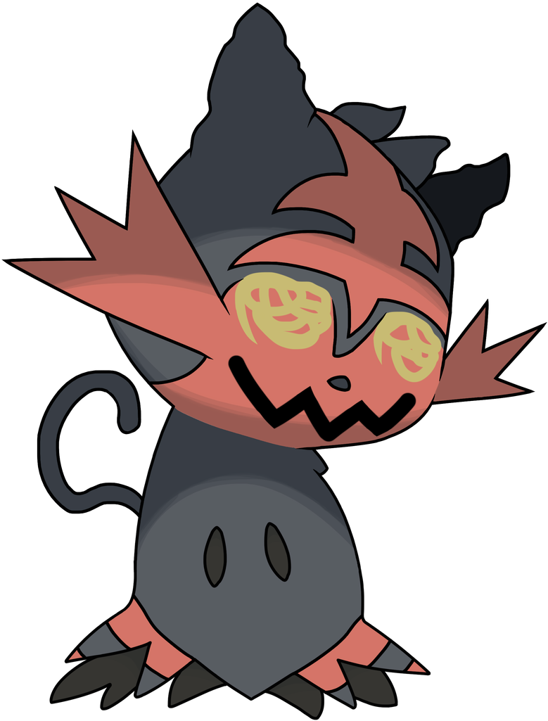 Mimikyu Litten By YoungsterJack On DeviantArt