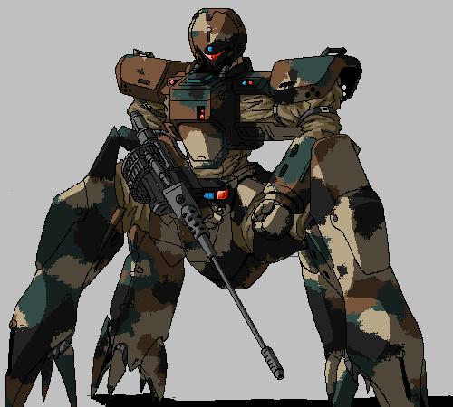 Helldiver 4 Legs by ltla9000311