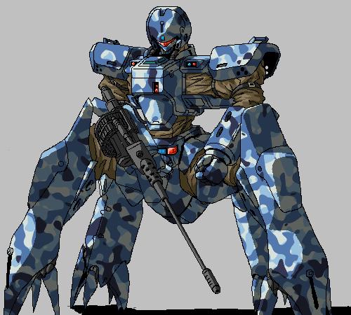 Helldiver 4 Legs 2 by ltla9000311