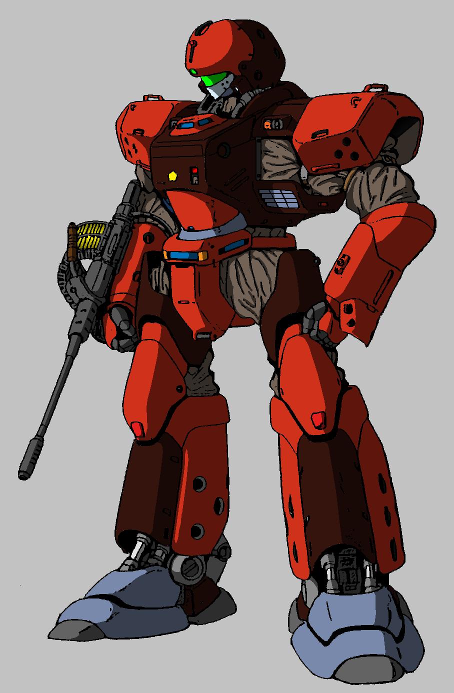 Patlabor Gundam crossover 4 by ltla9000311
