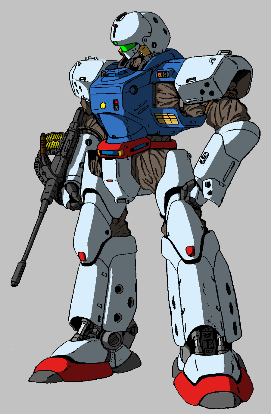 Patlabor Gundam crossover 5 by ltla9000311