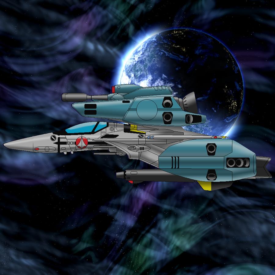 VF-1S Strike Vakyrie by ltla9000311
