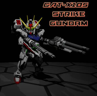 SD Strike Gundam 1
