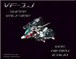 Chibi VF-1J Super Valkyrie