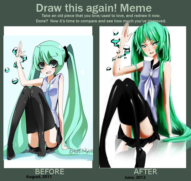 draw this again meme template - draw this again meme again by piwikiwii on deviantart