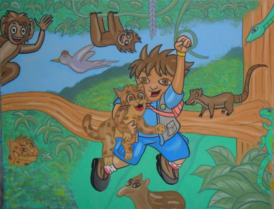 GO DIEGO GO By Israell On DeviantArt