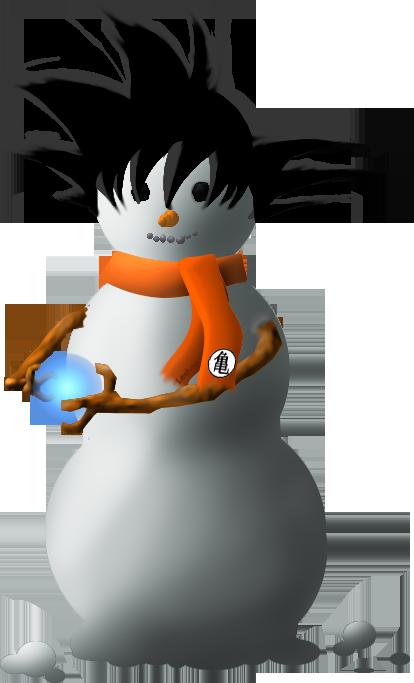 SnowGoku by DarkDryad17