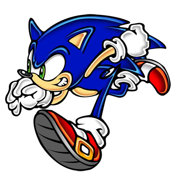 sonic run by megax88