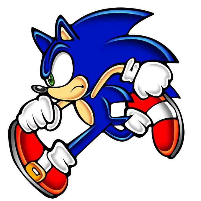 sonic run still by megax88