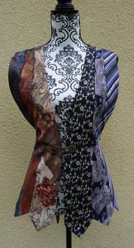 Tie front vest