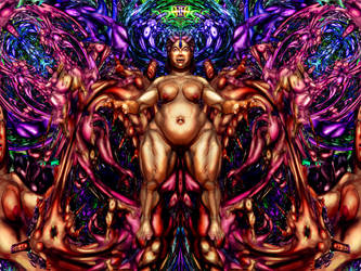 Higher Spinal Symbiosis 1 by Xerovore