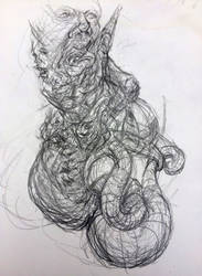 Art Jam Sketch 2232019 by Xerovore