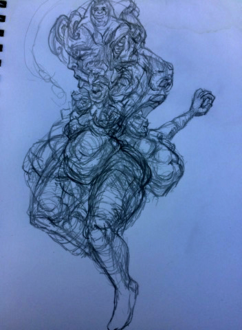 Art jam sketch 3302019 by Xerovore