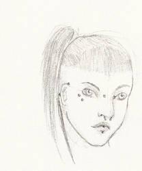 Punk Girl by Asphyx-ix