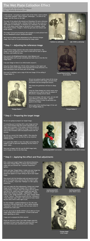 Wet Plate Collodion Effect