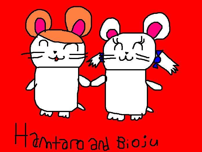 Hamtaro x Bijou
