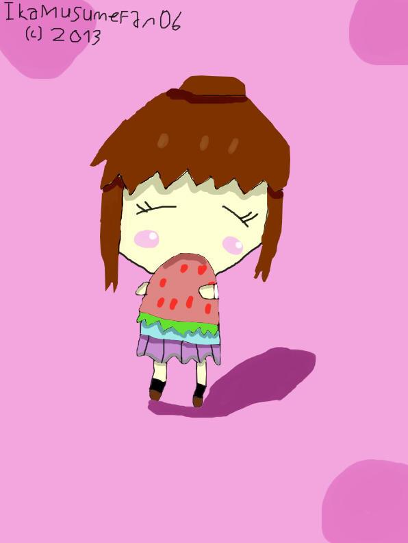 Nanami loves strawberry