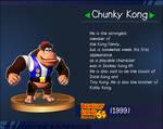 SSB Supreme Chunky Kong Trophy by IkaMusumeFan06