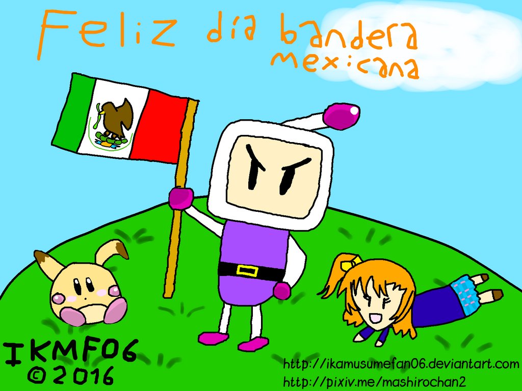 mexican flag day by ikamusumefan06 on deviantart