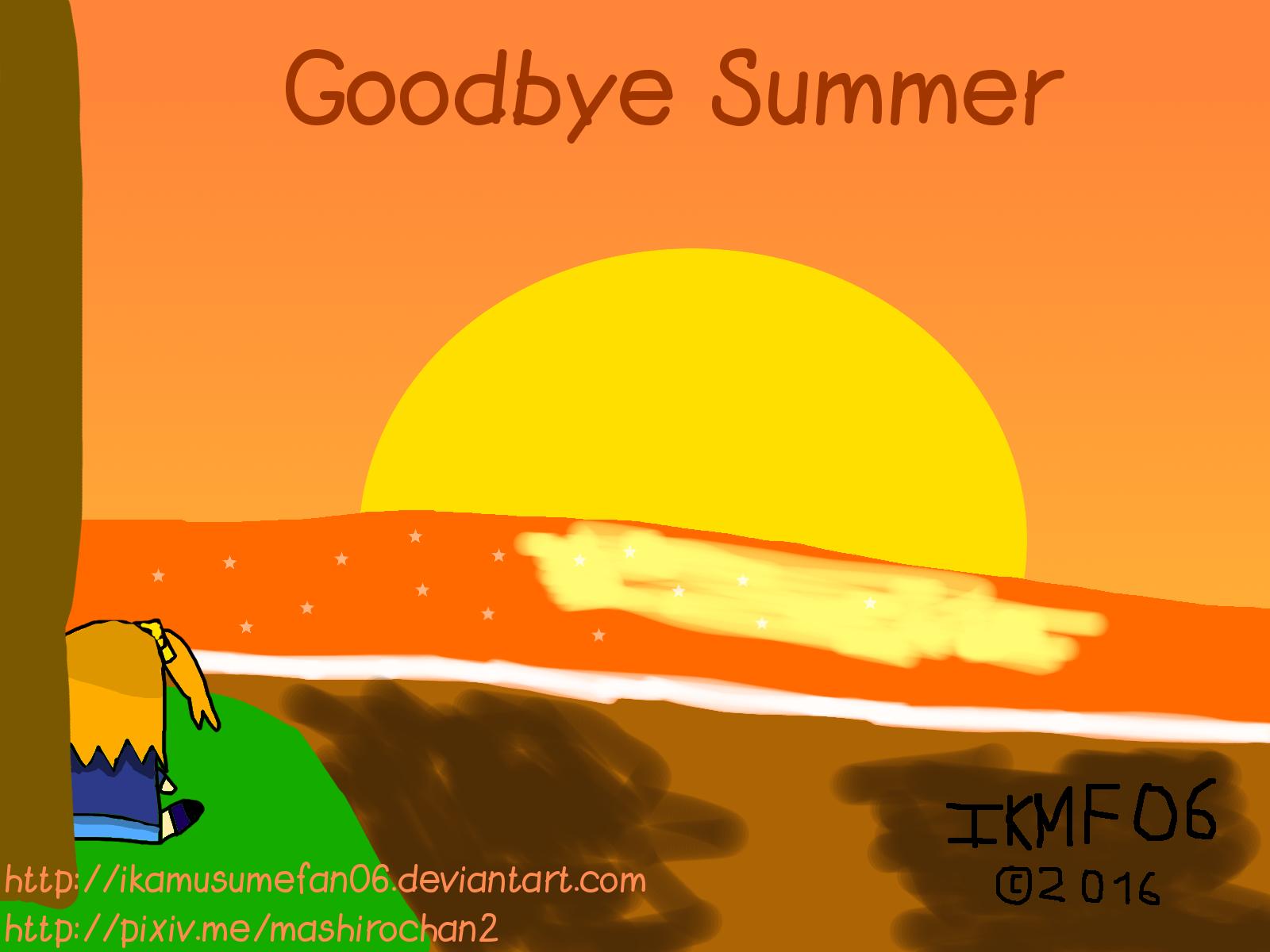 Goodbye Summer - The Fall Breeze is Coming by IkaMusumeFan06 on DeviantArt