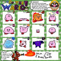 If Kirby haves Wario's Transformations - WL Meme by IkaMusumeFan06