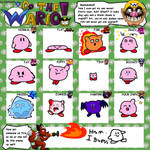 If Kirby haves Wario's Transformations - WL Meme