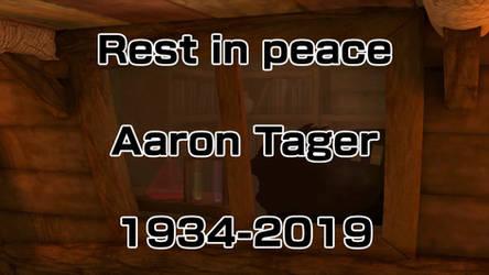 Aaron Tager Tribute - Cranky Kong VA passed away by IkaMusumeFan06
