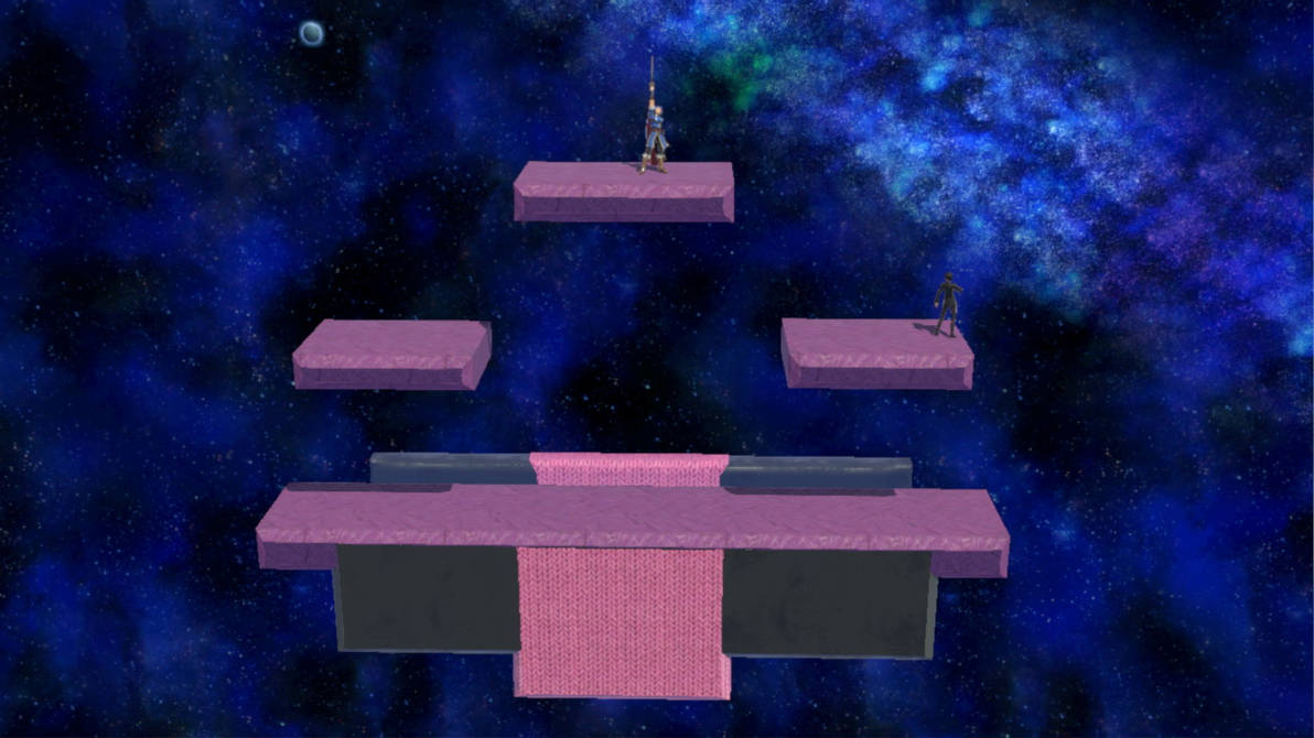Smash 64 Battlefield Stage Recreation by IkaMusumeFan06
