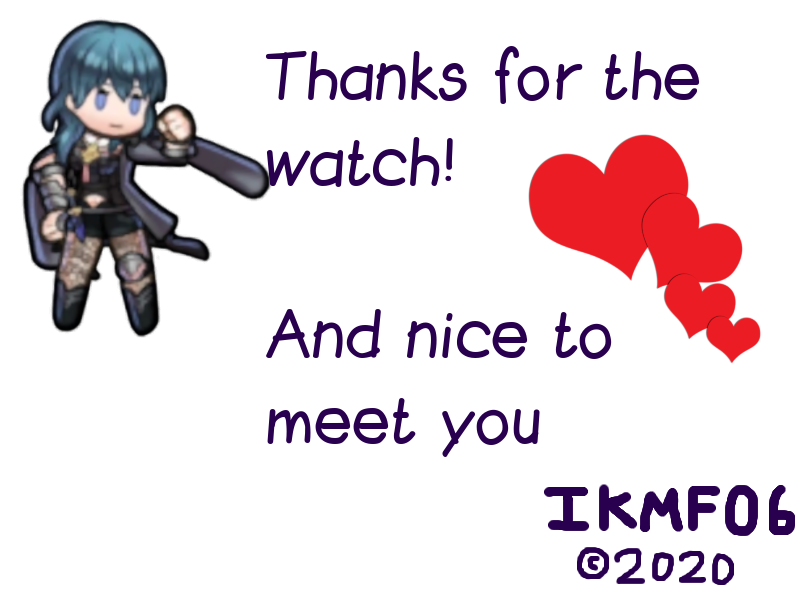 Byleth girl - Thanks for the watch