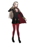 Edelgard doing her Pose from the Official Artwork by IkaMusumeFan06