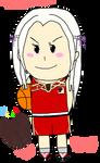 Chibi Basketball Edelgard by IkaMusumeFan06