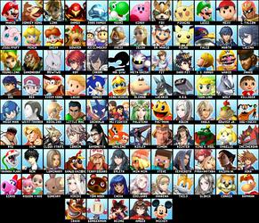 My Super Smash Bros. 6 Dream Roster