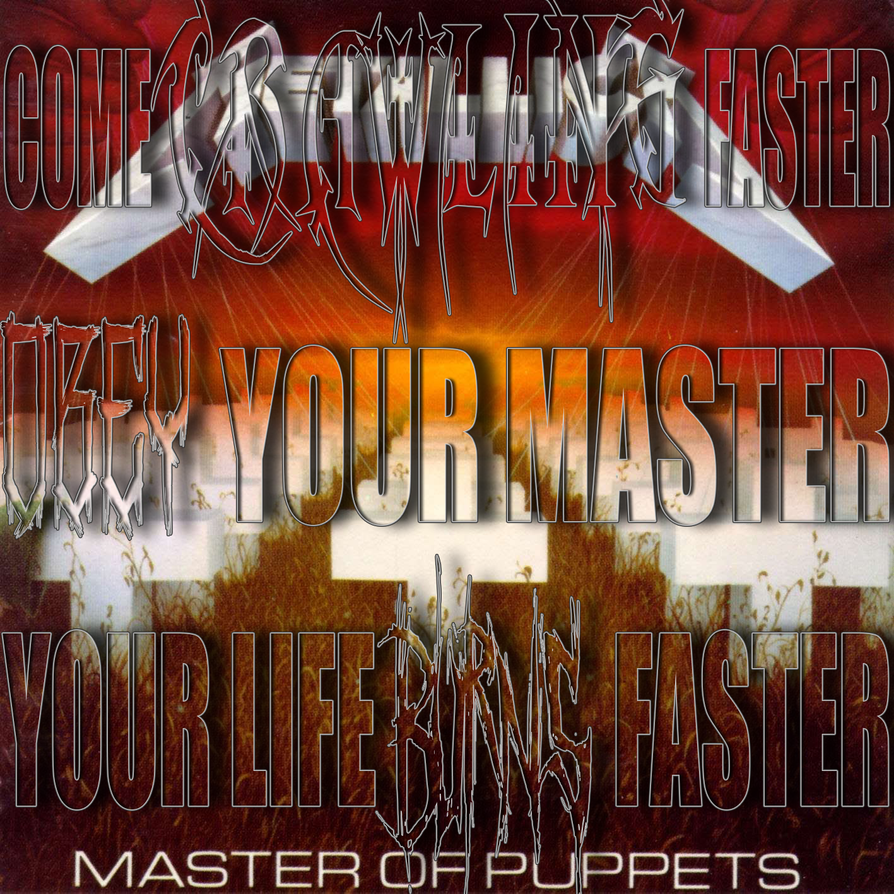 Metallica Master Of Puppets By Deathcore King