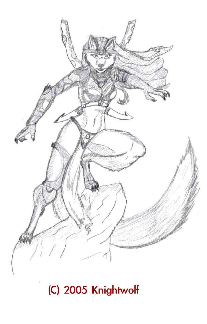 She- Wolf by MatthiusKnightwolf