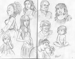 lots of sketches by peekabooga