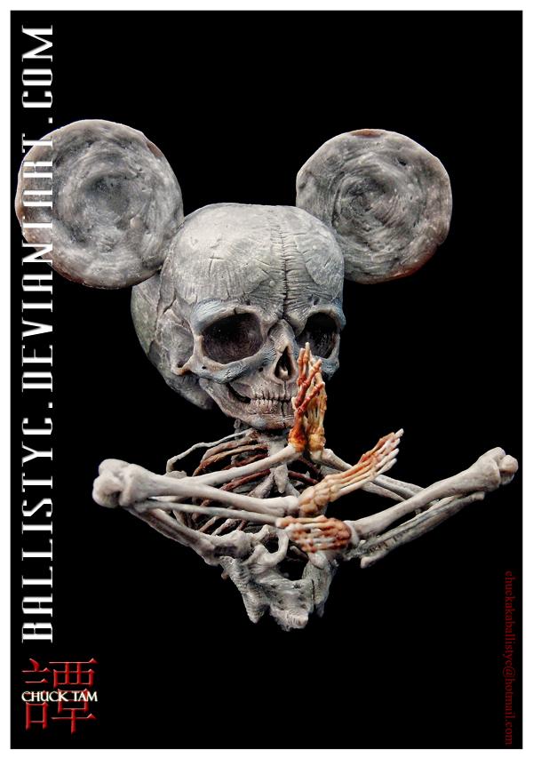 Mickey Mouse unpainted by Ballistyc
