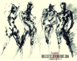 life drawing 16 by Ballistyc