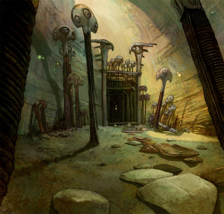 Old Goblin Mines by Fyreant