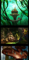 Assorted environments
