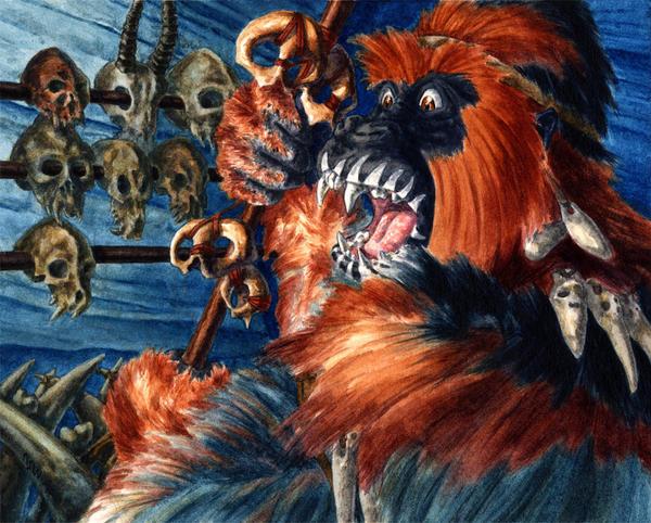 Gorilla Shaman by Fyreant