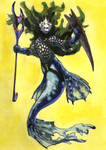 Mercadian Merwarrior by Fyreant