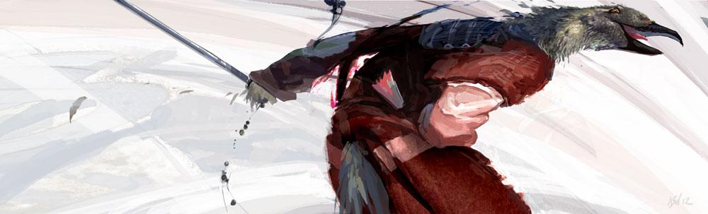 Samurai Heron Brings you some Choppin' by Fyreant