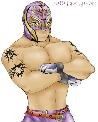 Rey Mysterio by ~punkrockguy