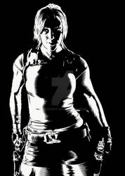 New Lara Croft illustration