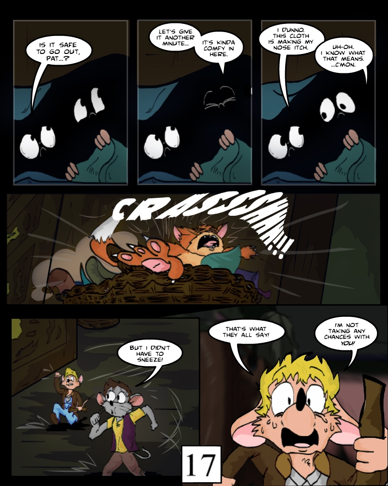Keeping Up with Thursday, Issue 1, page 17 by AaronsArtStuff