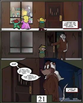 Keeping Up with Thursday, Issue 1 page 21