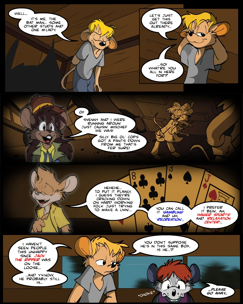 Keeping Up with Thursday Issue 2, page 12 by AaronsArtStuff