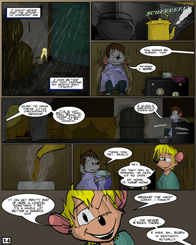 Keeping Up with Thursday: Issue 4, page 14 by KUWTComicsInc
